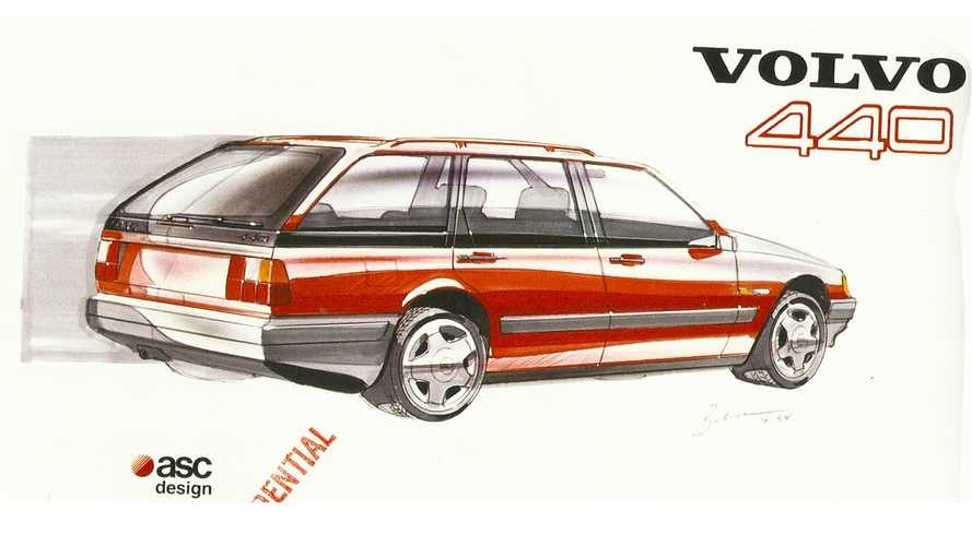 Vergessene Studien: Volvo 440/460 Kombi