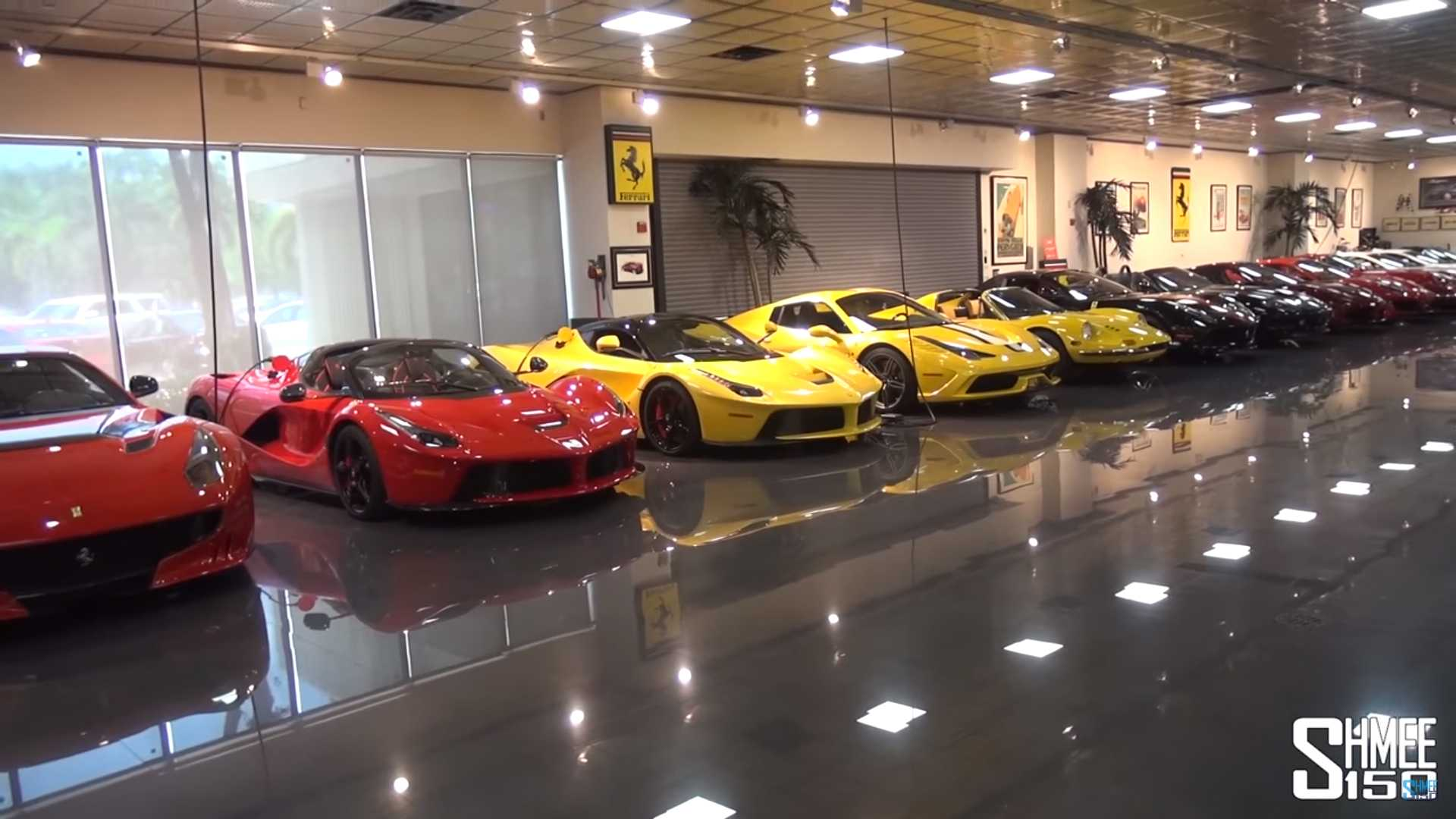 Epic Car Collection Has 3 Lfas 2 Laferraris And 7 Toyota 2000gts