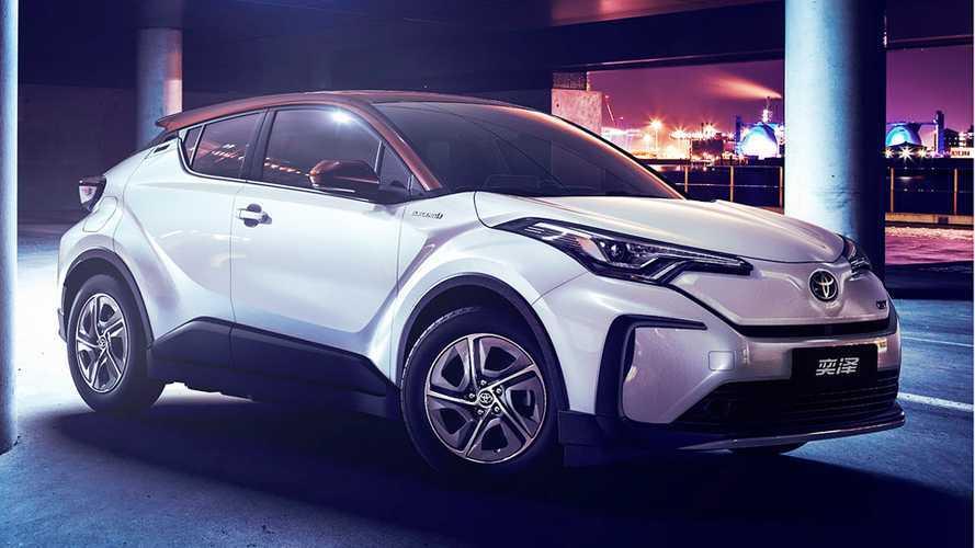 Le Toyota C-HR devient électrique en Chine