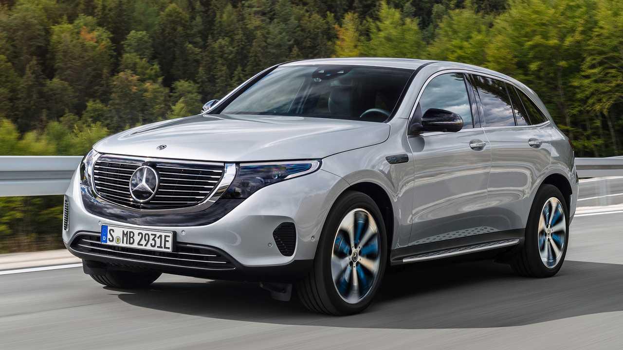 Autos mit krassem Grill: Mercedes EQC