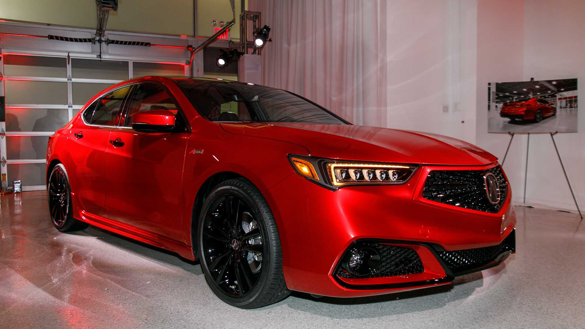 Acura Debuts Tlx Pmc Edition Hand Built By Nsx Technicians