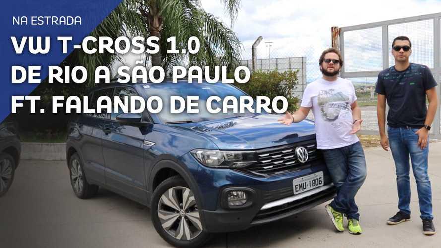 Vídeo - Do Rio de Janeiro a São Paulo com o VW T-Cross 200 TSI