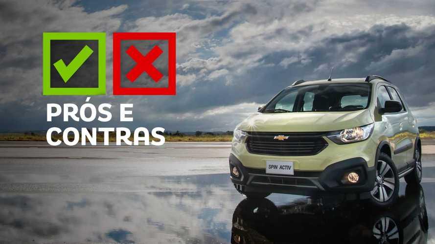 Prós e contras: Chevrolet Spin Activ7