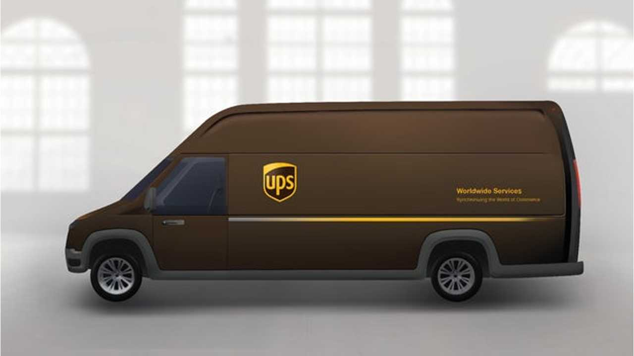 UPS To Test Electric Delivery Vans From Workhorse