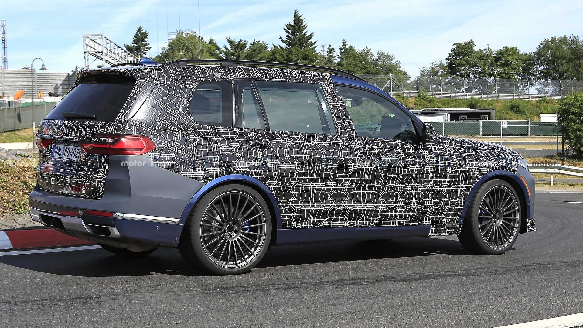 2017 - [BMW] X7 [G07] - Page 15 Alpina-xb7-spy-photo