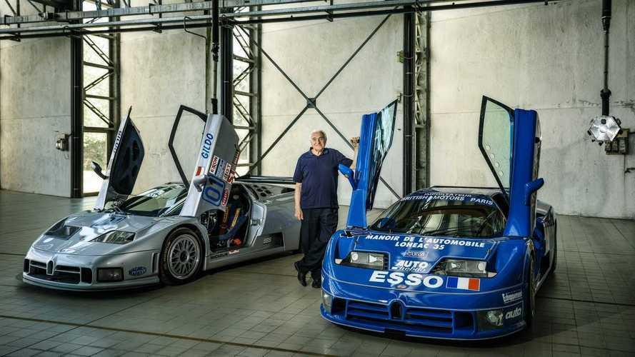 La Bugatti EB110 et Romano Artioli