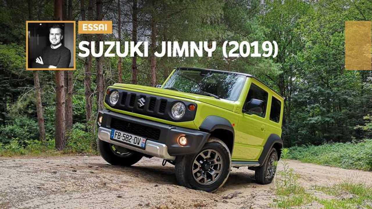Couverture essai Suzuki Jimny