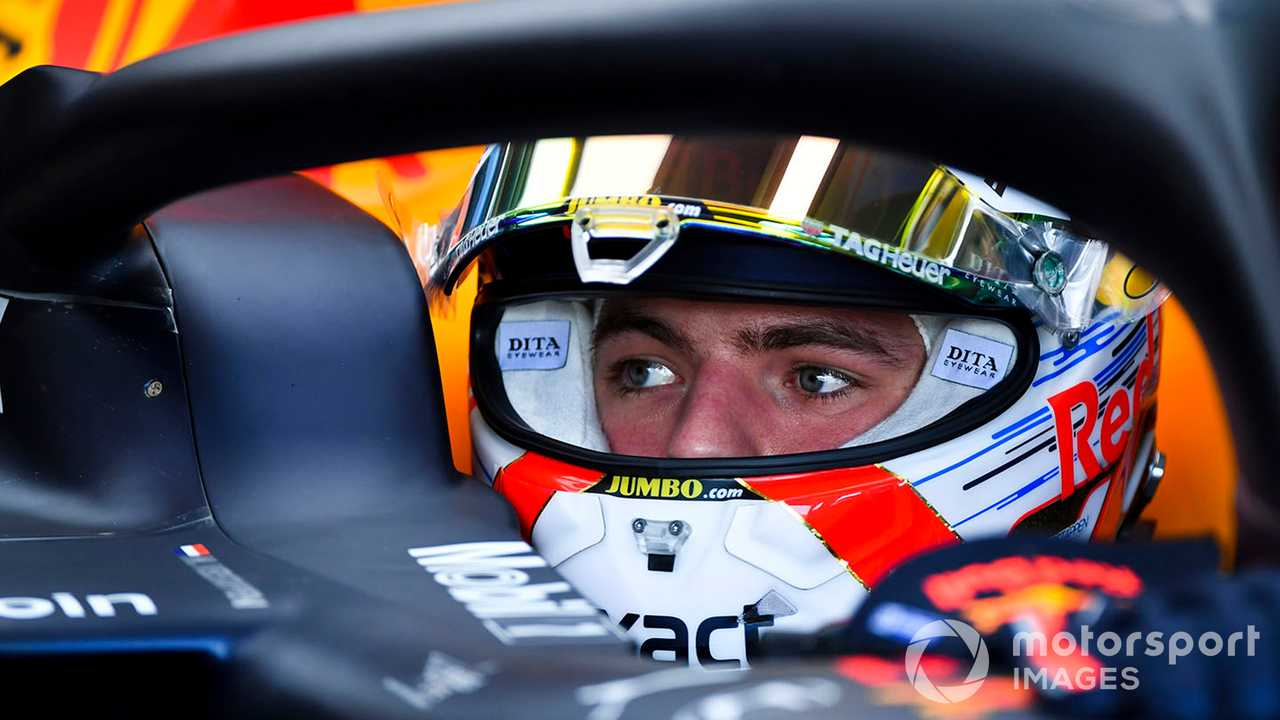 Max Verstappen at French GP 2019