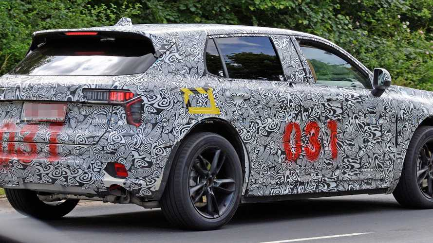 Lotus SUV mule spy photos