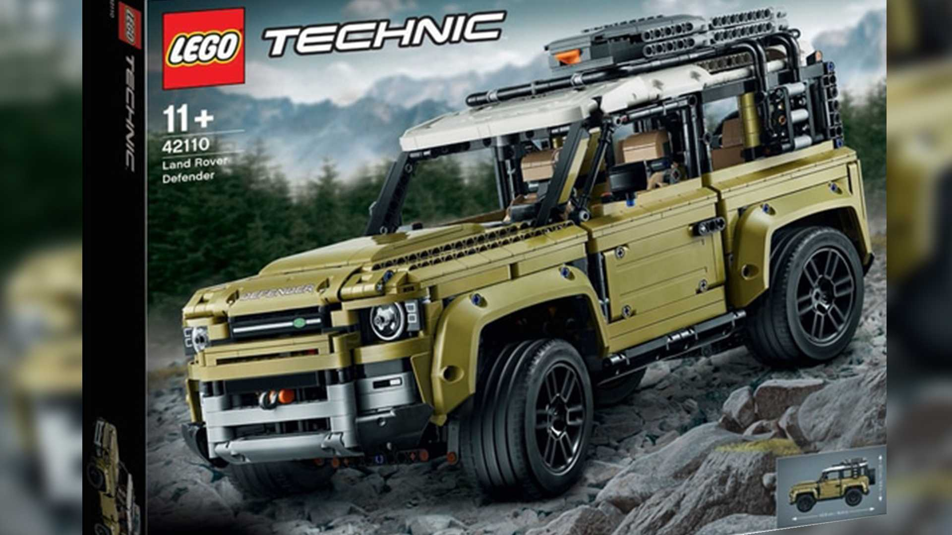 New Lego Technic Sets 2020 Lego Announces 2020 Land Rover Defender Technic Set