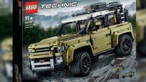 Lego zeigt den neuen Land Rover Defender als Technic-Set