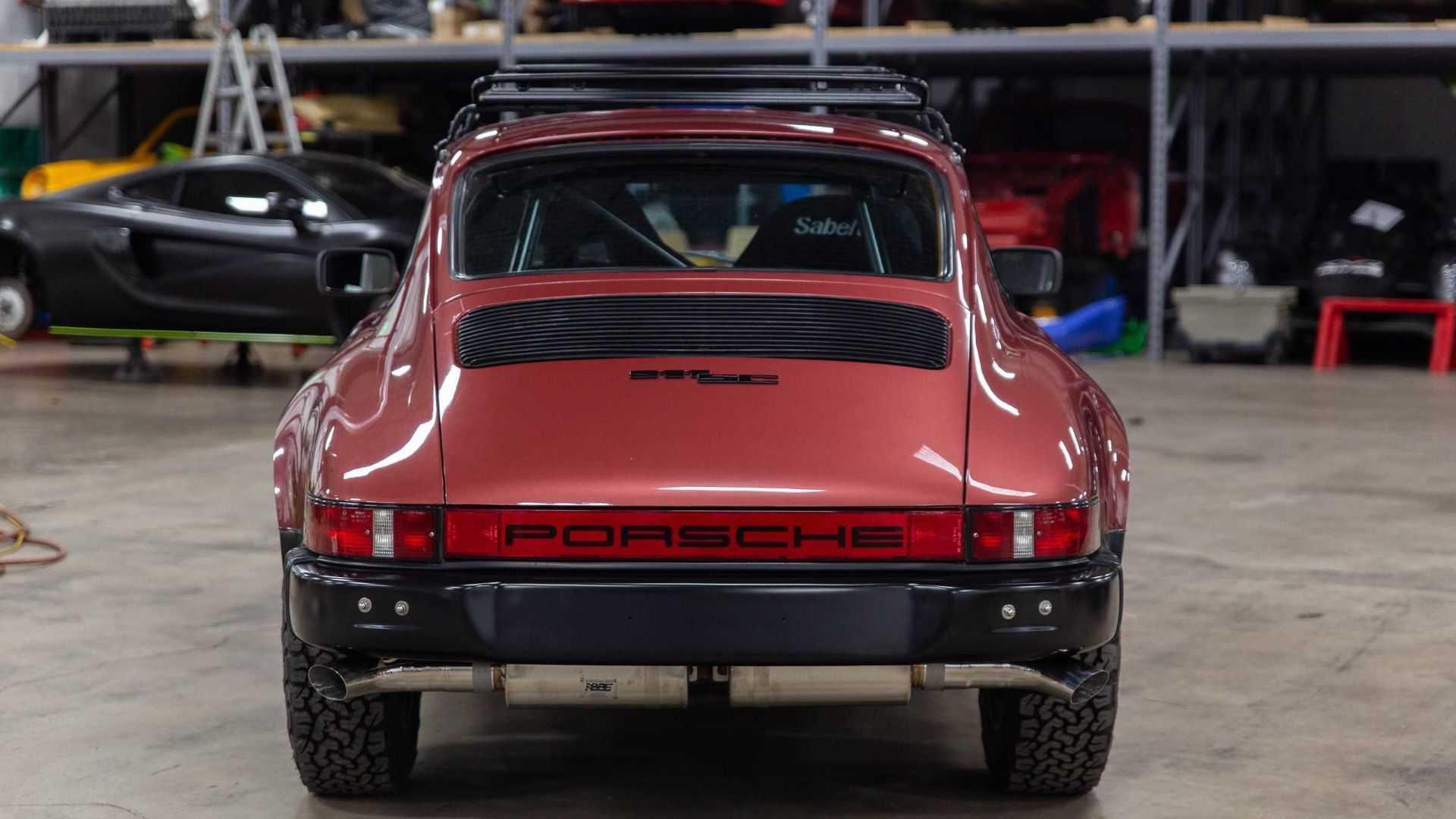 "[""Hit The Trails In A 1981 Porsche 911 SC""]"