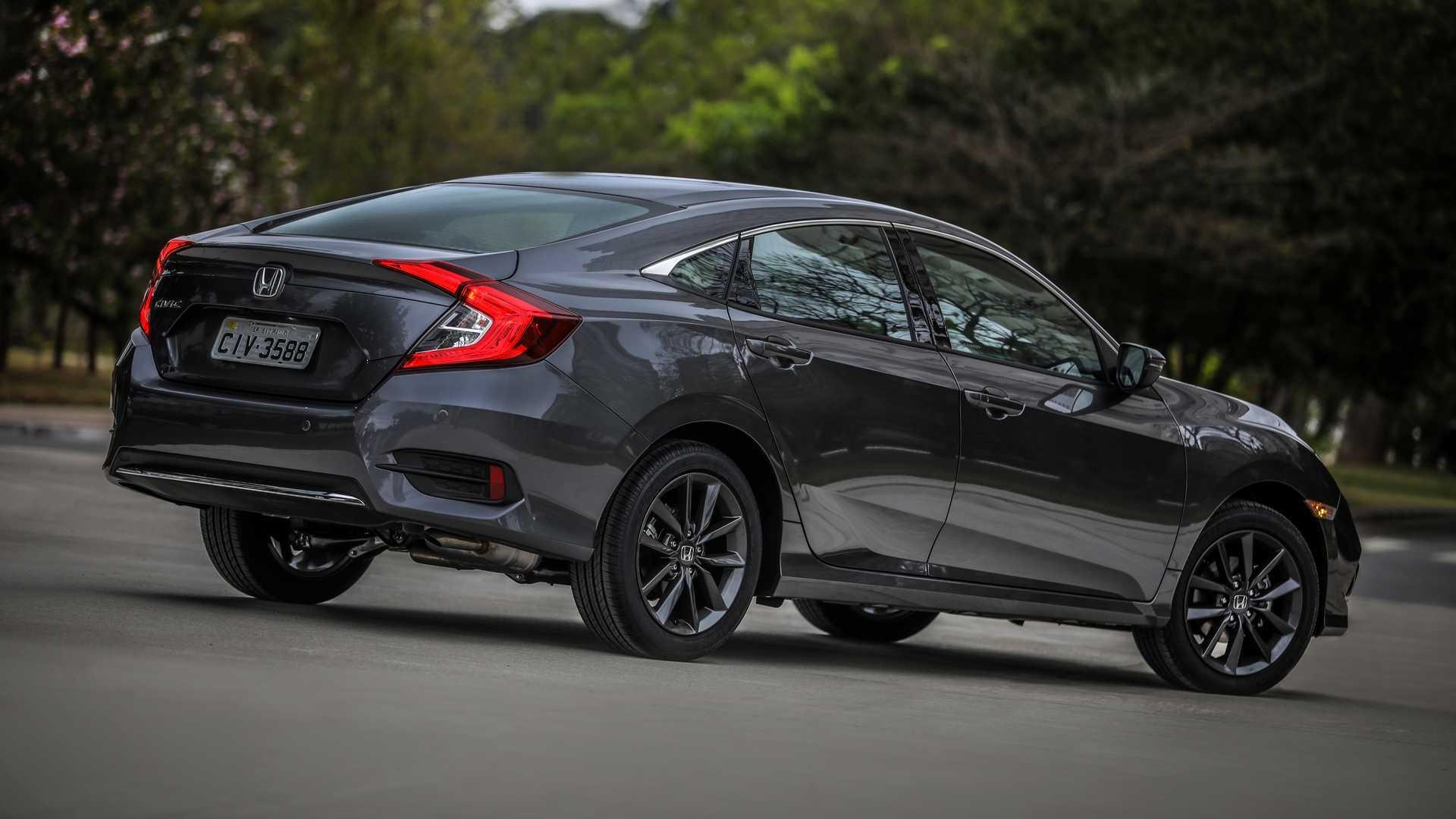 Honda Civic 2020 tem leve mudança visual e nova versão de entrada; veja preços