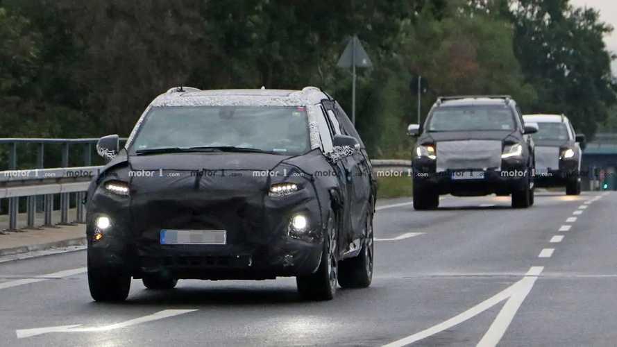 Chevrolet Blazer XL Spy Photos