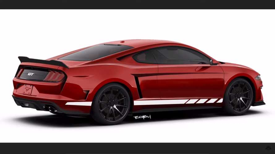 Mid-Engine Ford Mustang Makeover Takes Cues From 2020 Corvette
