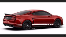Mid-Engine Ford Mustang Rendering