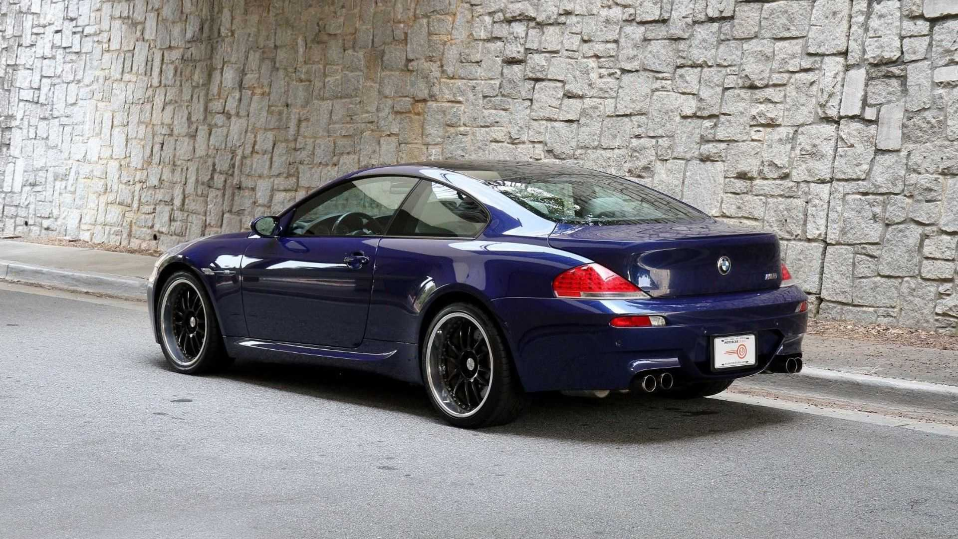 """[""""2007 BMW M6 Puts Power In Your Hands""""]"""