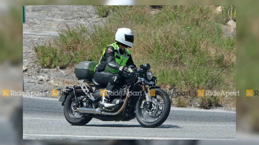 New Triumph Bobber TFC And Street Triple Spotted