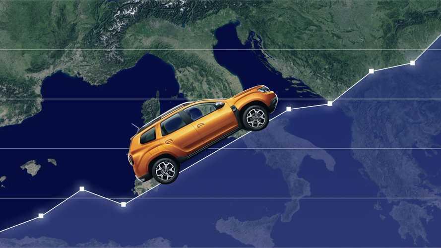 Dacia Duster, i numeri di un fenomeno di mercato