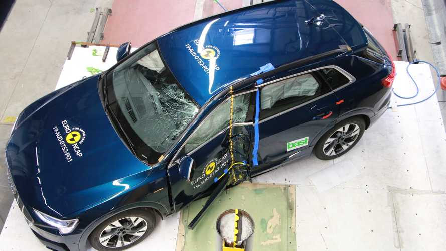 Audi e-tron, Euro NCAP crash test