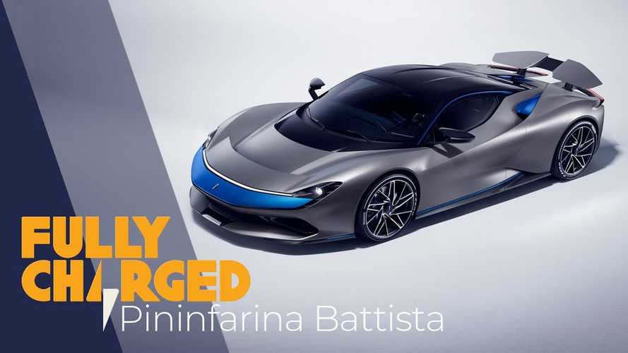 Pininfarina Battista Featured By Fully Charged: Video