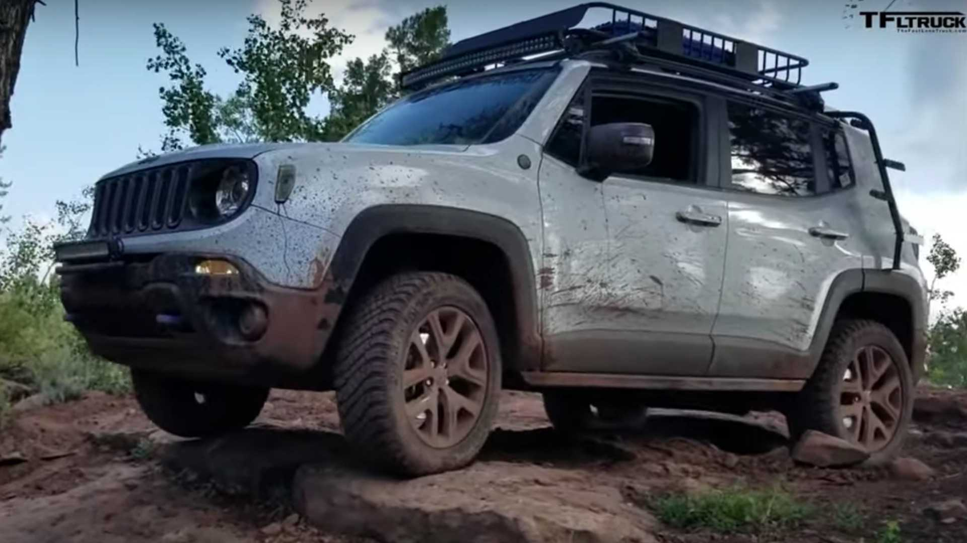 Jeep Renegade Lifted >> Jeep Renegade Owner Gives Her Crossover Wrangler Like Capability