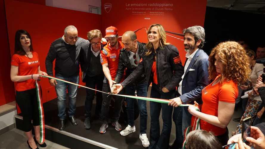 Ducati raddoppia a Roma, aperto un nuovo flagship store