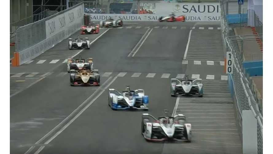Formula E Rome ePrix Race Highlights: Video