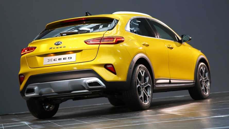 New Kia XCeed compact SUV starts from under £21,000