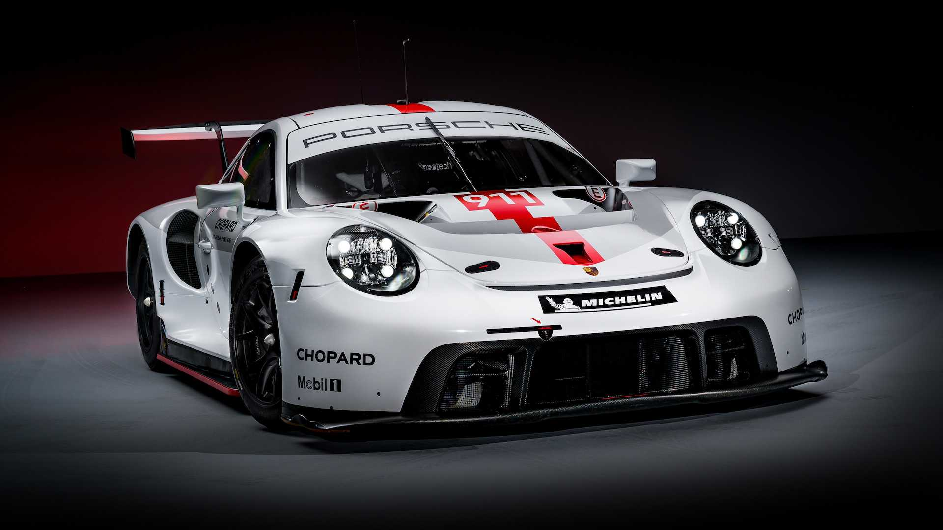 New Porsche 911 RSR revealed at Goodwood