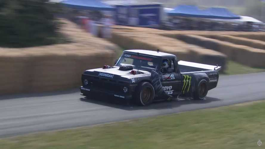 Ken Block Hoonitruck Goodwood
