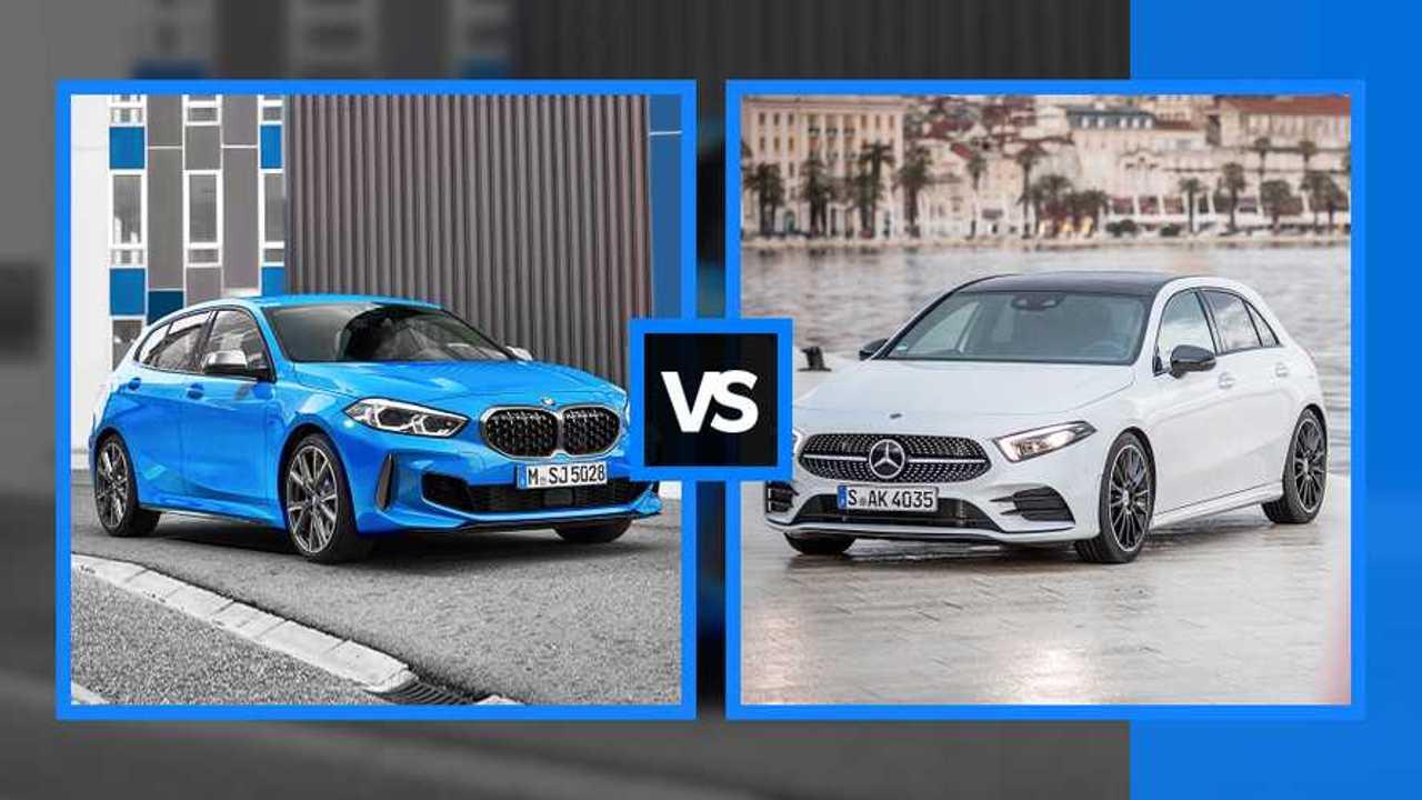 Nuova BMW Serie 1 vs Mercedes Classe A