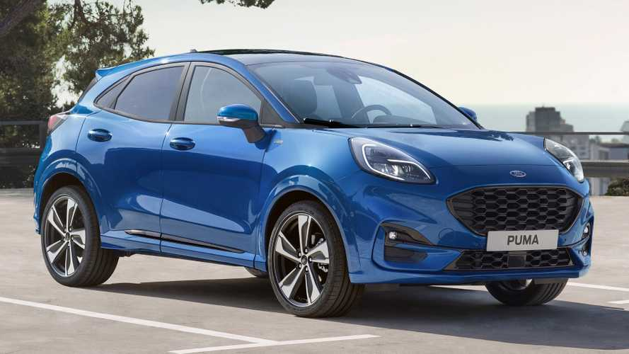 2020 Ford Puma compact crossover revealed with lots of tech
