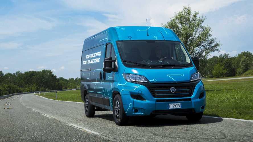 Fiat Ducato Electric, il primo elettrico di Fiat arriva nel 2020