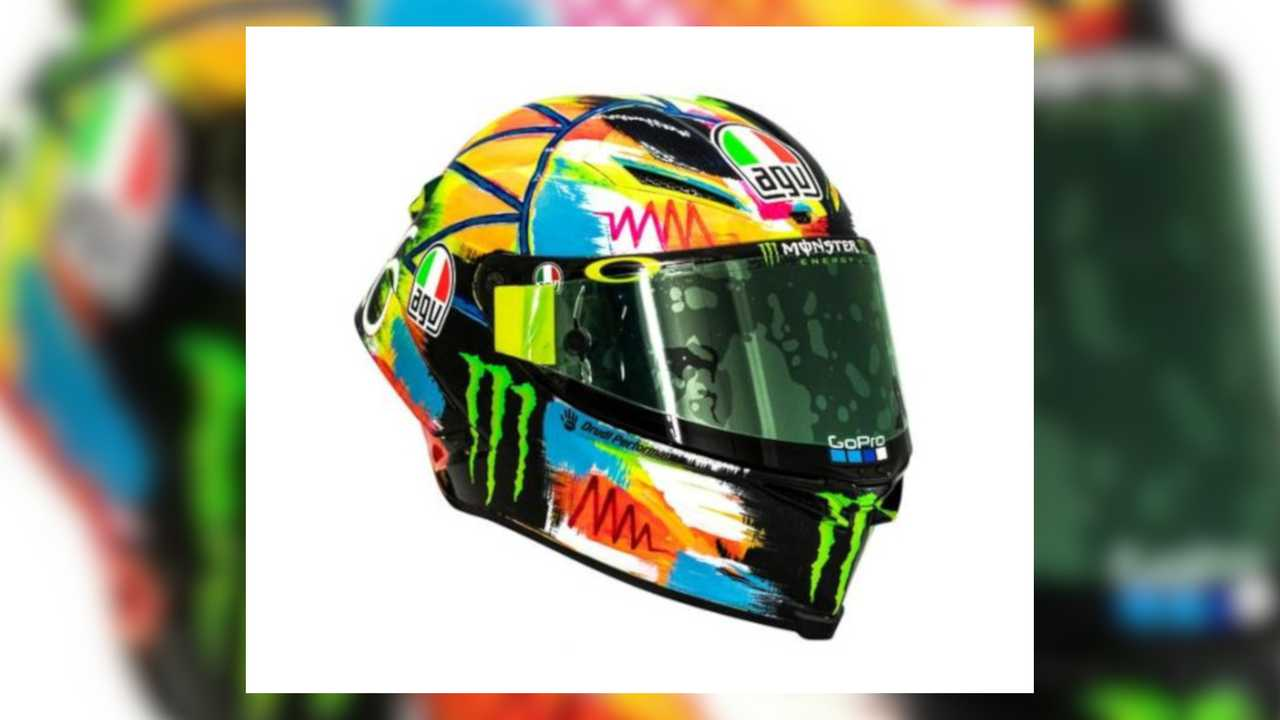 AGV Pista GP R 2019 Rossi Winter Test Limited Edition