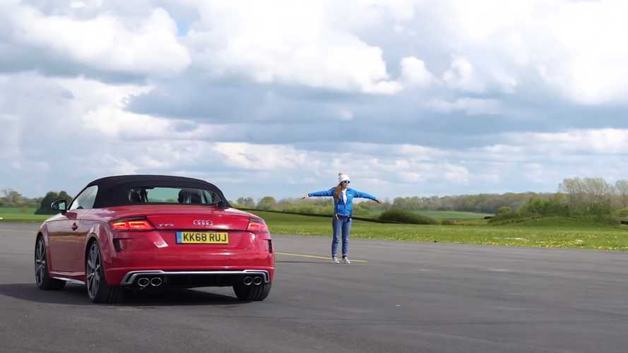 V8 или турбомотор? Ответ – в заезде Audi R8 против Audi TTS