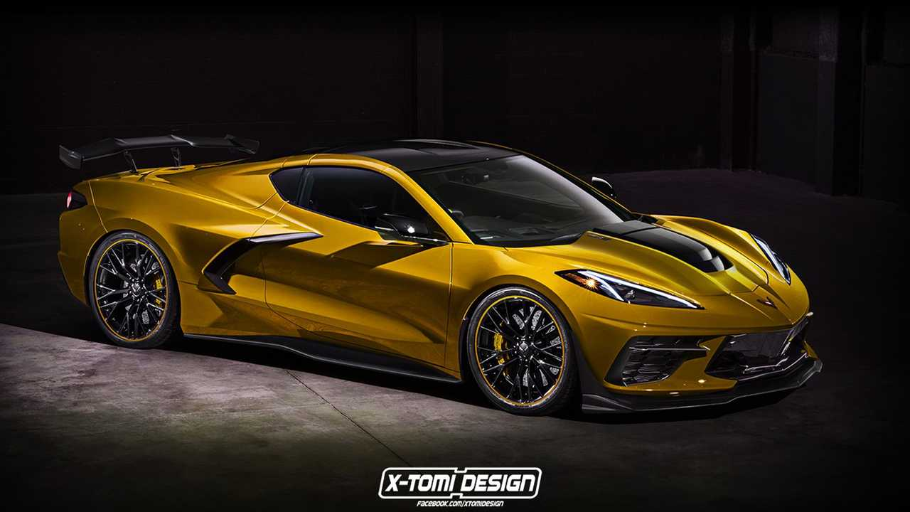 C8 Corvette ZR1 Rendering