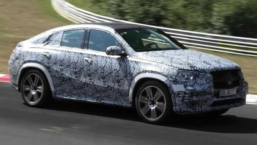 New Mercedes GLE Coupe Spotted With Its Unusual Shape At The 'Ring