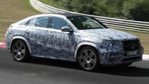 mercedes gle coupe spy video