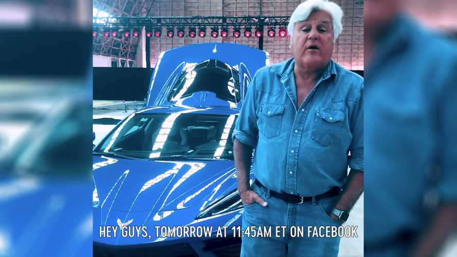 Watch Jay Leno's 2020 Chevy Corvette C8 First-Look Livestream Here