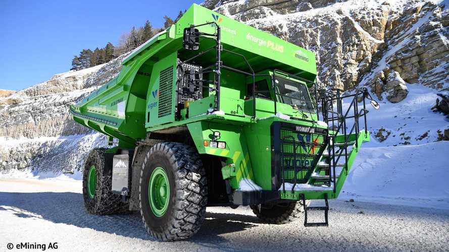 Voici le véhicule électrique le plus gros de la planète