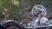 video offroad honda rebel 250