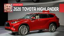 2020 toyota highlander live video
