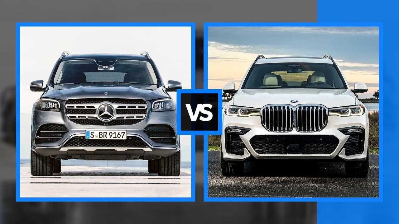 Mercedes GLS vs BMW X7