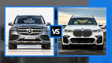 Mercedes GLS vs BMW X7, sfida fra giganti