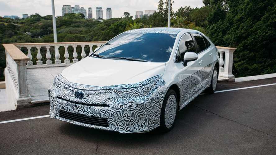 Novo Toyota Corolla híbrido flex é confirmado para final de 2019