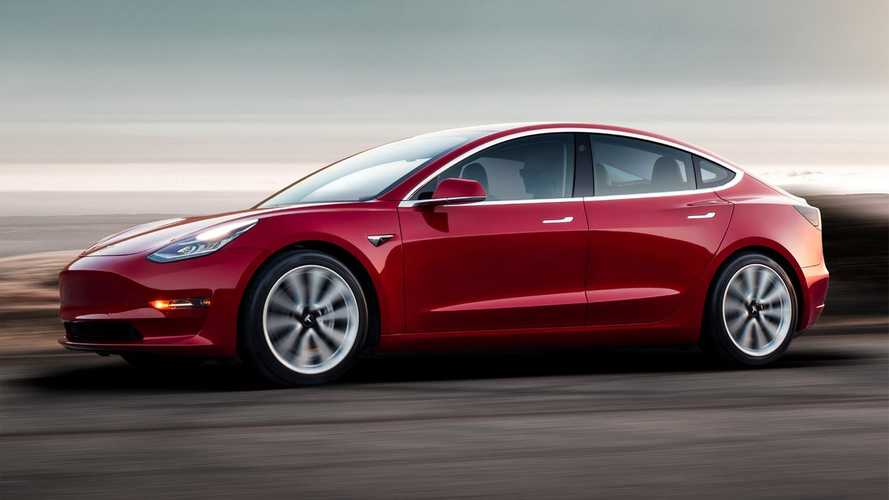 Edmunds Declares Tesla Model 3 Its Top-Rated Electric Car Of The Year