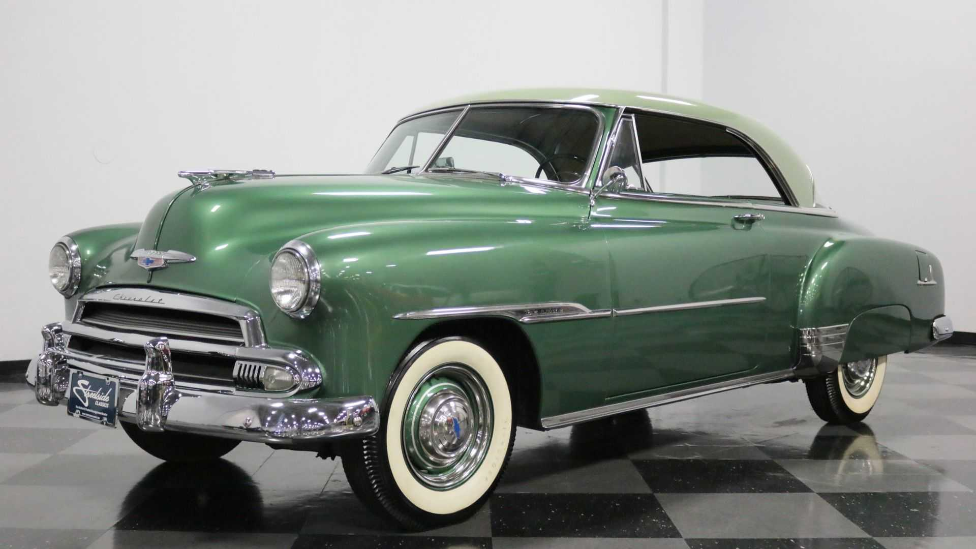 """[""""Someone Buy This Clean And Correct 1951 Chevy Bel Air""""]"""
