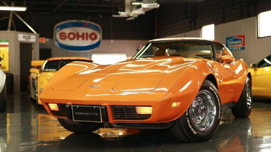 Vivid Orange C3 Corvette Stingray Is Highly Original