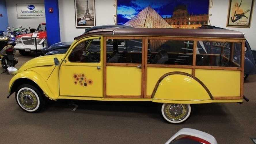 Citroen 2CV 'Woody' Station Wagon Is A French Curiosity